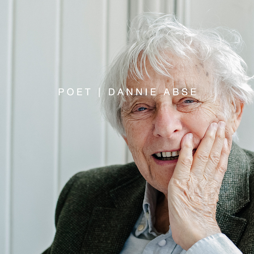 Individual Portrait Poet Dannie Abse Thumbnail Link Charlotte Knee Photography